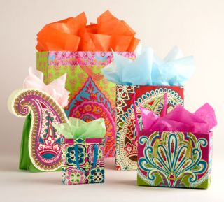 Our exclusive gift bags, gift wrap and boxes are handcrafted in India