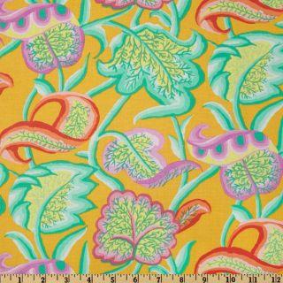Kaffe Fassett Forest of Arden Yellow   Discount Designer Fabric