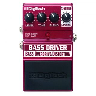 DigiTech® Bass Driver Stompbox Bass Guitar Effects Pedal  Maplin