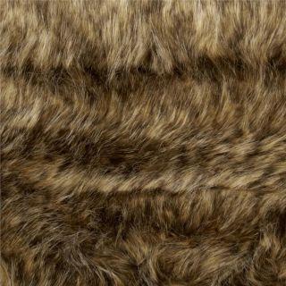 Faux Fur Desert Coyote Caramel/Gold   Discount Designer Fabric