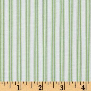 Noahs Ark Stripe Green   Discount Designer Fabric   Fabric