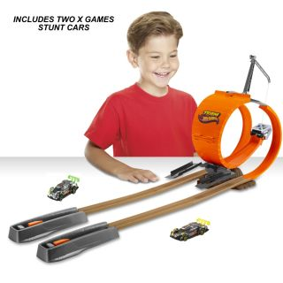 Hot Wheels Double Loop Dare Car & Track Bundle   Shop.Mattel