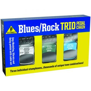 Behringer Rock/Blues Trio Guitar Effects Pedal Pack  Maplin