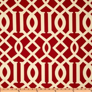 Richloom Solarium Outdoor Kirkwood Cherry   Discount Designer Fabric