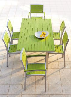 PolyWood® Rectangle Dining Table   Recycled Plastic Outdoor Furniture