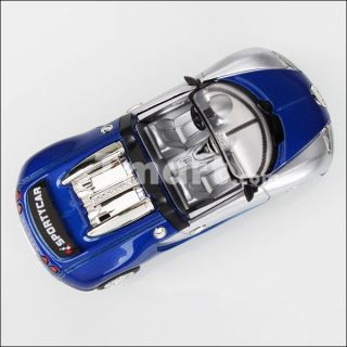XL.666 6 Fancy Alloy Super Racing Pull Back Action Car Blue White