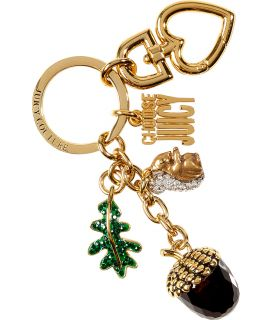 Juicy Couture Gold Toned Acorn Key Fob  Damen  Schmuck  STYLEBOP