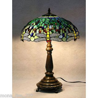 stained glass desk lamp in Home & Garden