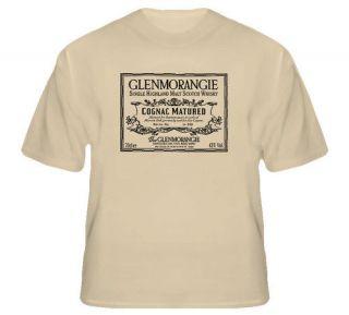 Glenmorangie Scotch Whiskey Alcohol Congac T Shirt