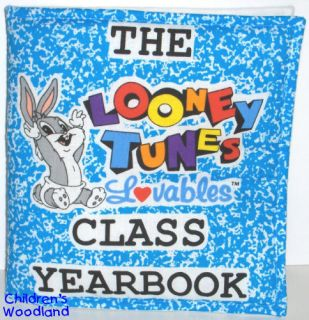 LOONEY TUNES CLOTH/SOFT BOOK KIDS BUGS BUNNY TWEETY