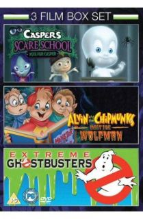 Caspers Scare School / Alvin and the Chipmunks meet the Wolfman