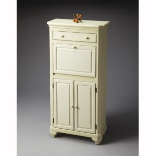 Cottage White Secretary Desk at Brookstone—Buy Now!