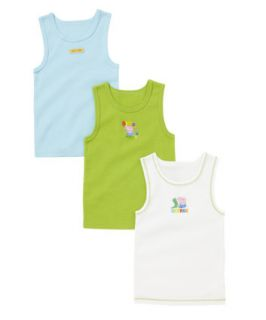 George Pig Vests – 3 Pack   vests   Mothercare