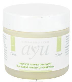 AYU Natural Beauty Care   Intensive Juniper Treatment   2.6 oz