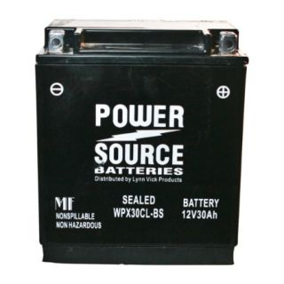Power Source Sealed Battery WPX30CL BS 12V 30Ah