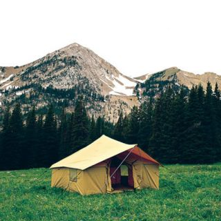 Montana Canvas Spike III Spike Tent Package with Tent Fly and Aluminum