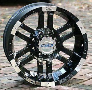 16 inch Black Wheels/Rims MOTO 951 Chevy GM Truck 8 lug