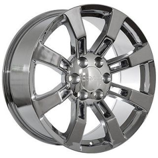 20 chrome GMC 2009 yukon denali wheels rims