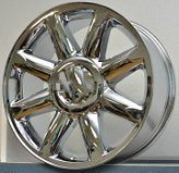 CHROME WHEELS 20 GMC YUKON DENALI XL CHEVY SILVERADO TAHOE SUBURBAN