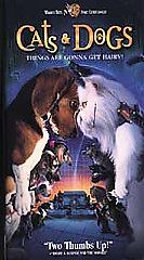 Cats Dogs VHS, 2001, Clamshell