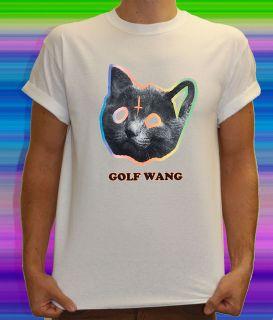 OFWGKTA ODD FUTURE GOLF WANG TYLER THE CREATOR T SHIRT MENS CAT