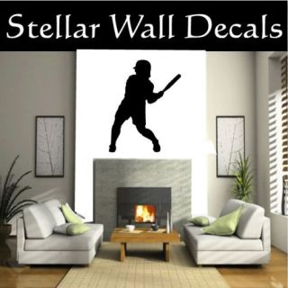 Softball Sport Wall Car Vinyl Decal Sticker ST007