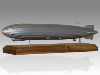 Graf Zeppelin Airship LZ 127 L127 Wood Desktop Model