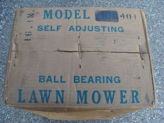 Antique Granite State LawnMower Hinsdale NH NEW IN BOX  Lawn