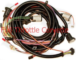 1979 Corvette Rear Body Wiring Harness With Rear Window Defrost Option