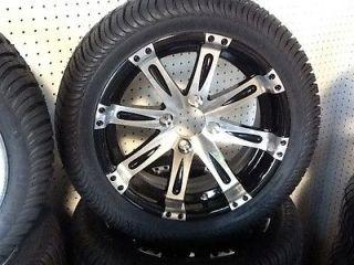Golf Cart Wheel And Tire Combo 12 Inch Rims Lo Pro Tires COOL RIMS