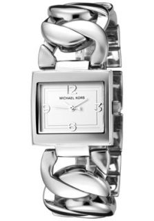 Michael Kors MK3023 Watches,Womens Silver Dial Stainless Steel