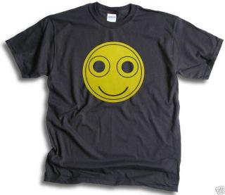 Mens T Shirt Funny Smiley Face Acid Trip LSD Rave XTC