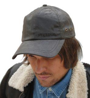 Stetson Liberty Distressed leather baseball cap