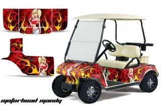 GOLF CART PARTS GRAPHIC KIT WRAP AMR RACING DECALS ACCESSORIES M MANDY