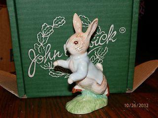 Beswick Beatrix Potter Figurine Peter Rabbit GOLD MARK In Orig Box