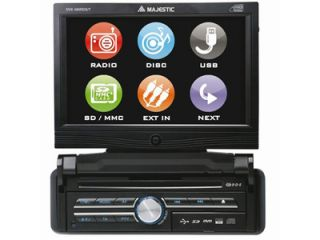 MAJESTIC DVX 488RDS/T 7   Autoradio   Unio