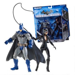 Batman Legacy Arkham City Batman and Catwoman Classic Figure 2 Pack