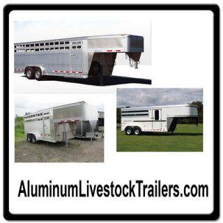 Aluminum Livestock Trailers ONLINE WEB DOMAIN FOR SALE/HORSE/CAT