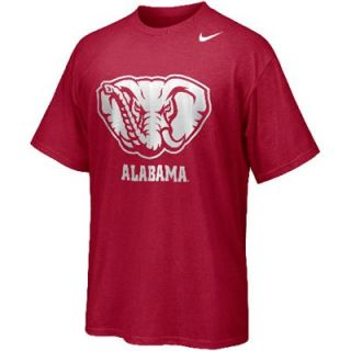 Nike Alabama Crimson Tide Hyper Speed Logo T Shirt   Crimson
