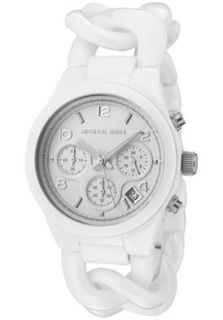 Michael Kors MK5387 Watches,Womens Chronograph White Dial White