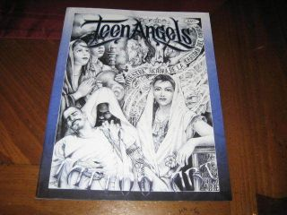 New Teen Angels Magazine   Tattoo Art   Chicano rare