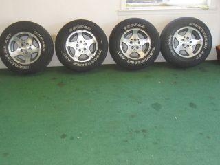 OEM Jeep Wrangler Cherokee Canyon Aluminum Wheel 15x7 87 06 TJ YJ