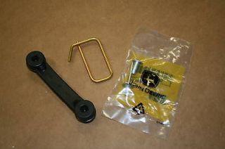 John Deere Bagger Chute Strap Kit Bungie, Hook, & Rivet New OEM Parts