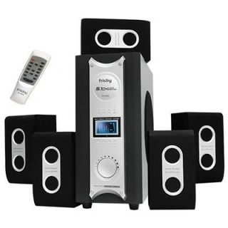 Surround Sound Home Theater System with 2 AUX and Remote Controller