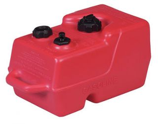 NEW ULTRA PORTABLE 3 GALLON FUEL TANK WITH HANDLE MOELLER BOAT MARINE