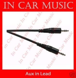 5mm Jack iPhone iPod  AUX IN Car Lead Cable for Honda Civic Jazz