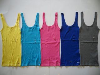 NWT Hollister by Abercrombie Women Bay Street Tank Tee T Shirt Top