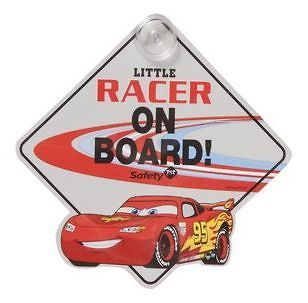 NEW SAFETY 1ST DISNEY CARS BABY ON BOARD CAR WINDOW SIGN GREY