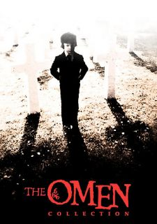 The Omen The Complete Collection DVD, 2009, 6 Disc Set