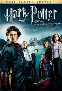 Harry Potter and the Goblet of Fire DVD, 2006, Full Frame